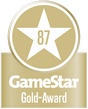 GameStar Gold-Award: 87 Punkte